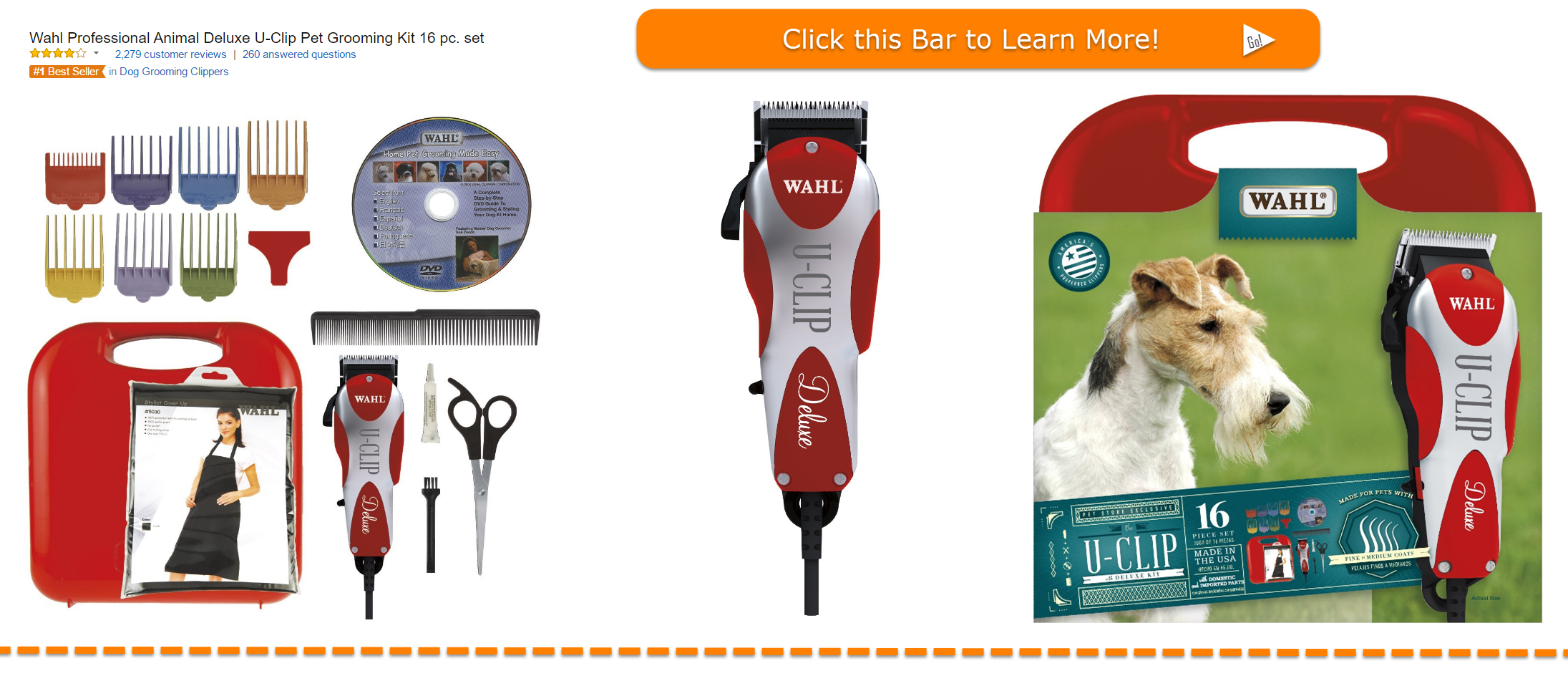 Grooming Kit for Dogs