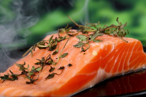 Salmon for Dogs Human foods safe for dogs at NewDogTimes.com
