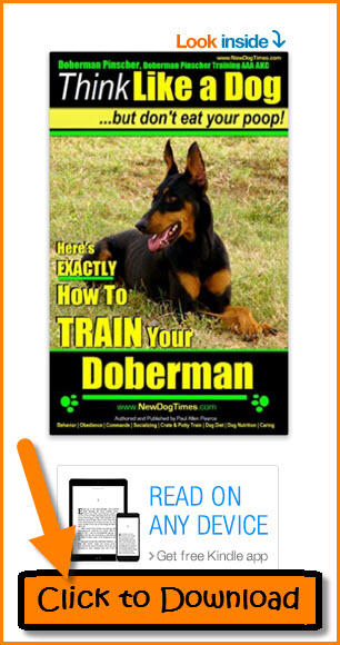 eBook Doberman Pinscher Training
